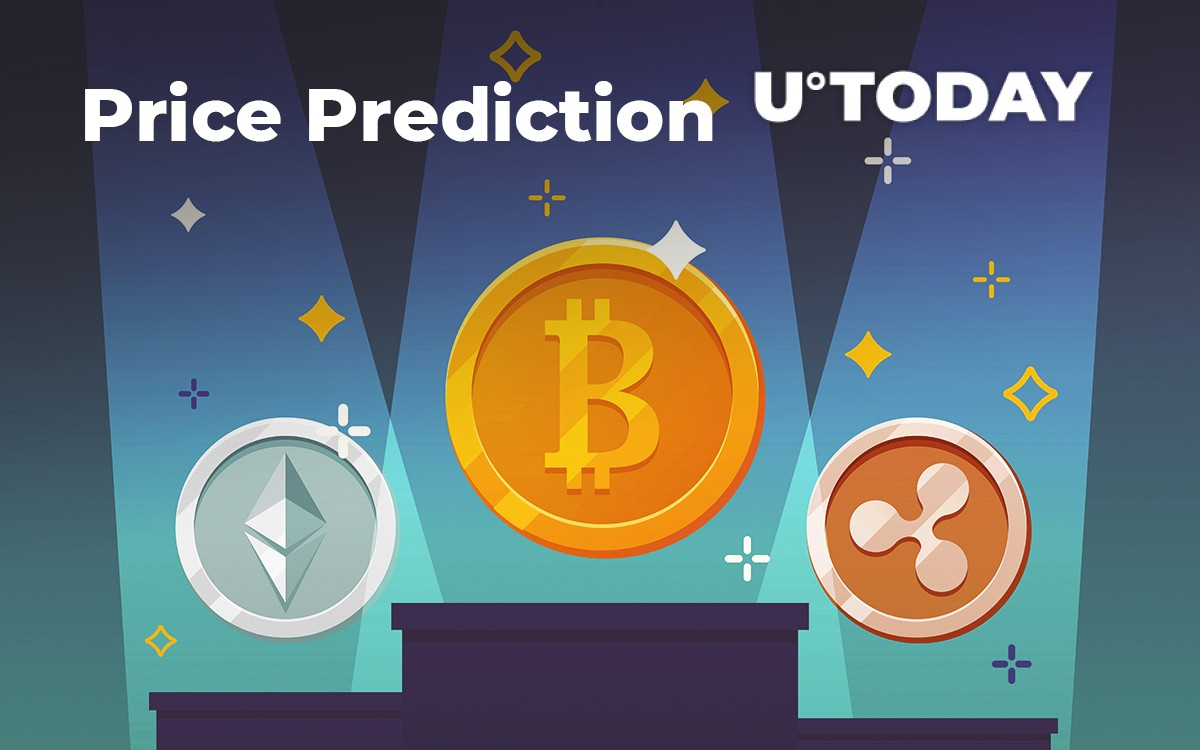 BTC, ETH, XRP Price Prediction — The Nearest Support and Resistance Levels