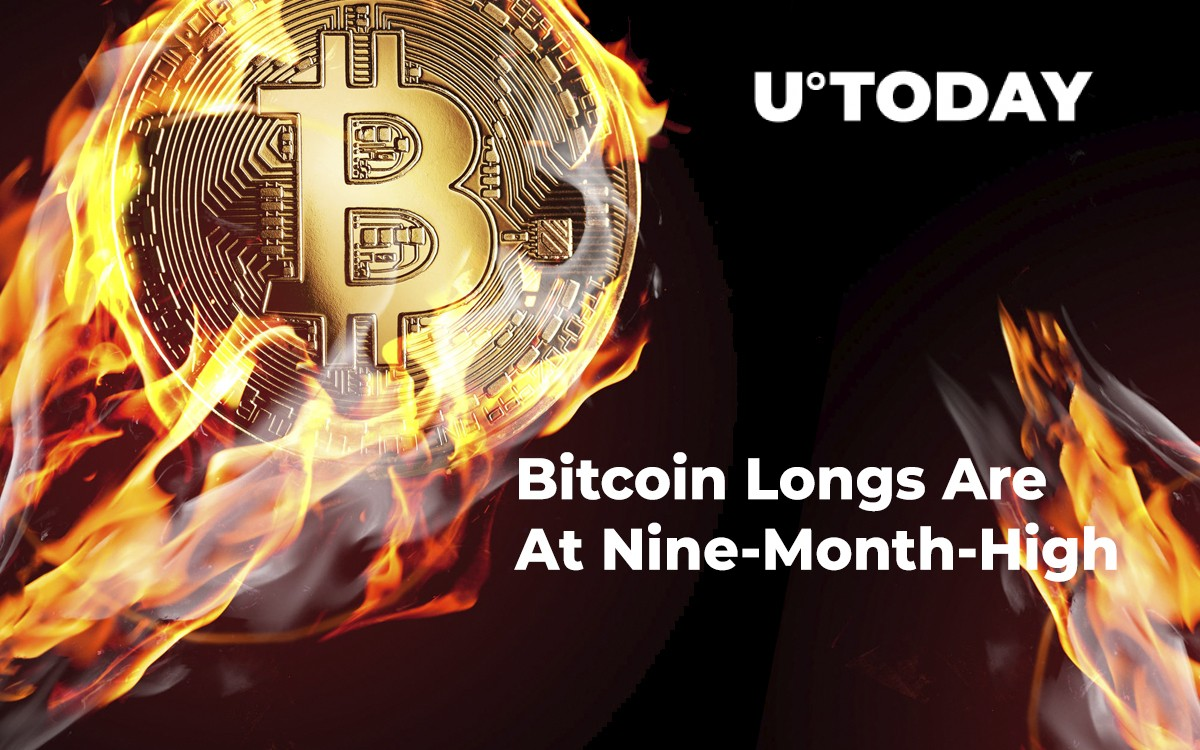 Crypto Analyst Says Bitcoin Longs at a Nine-Month High