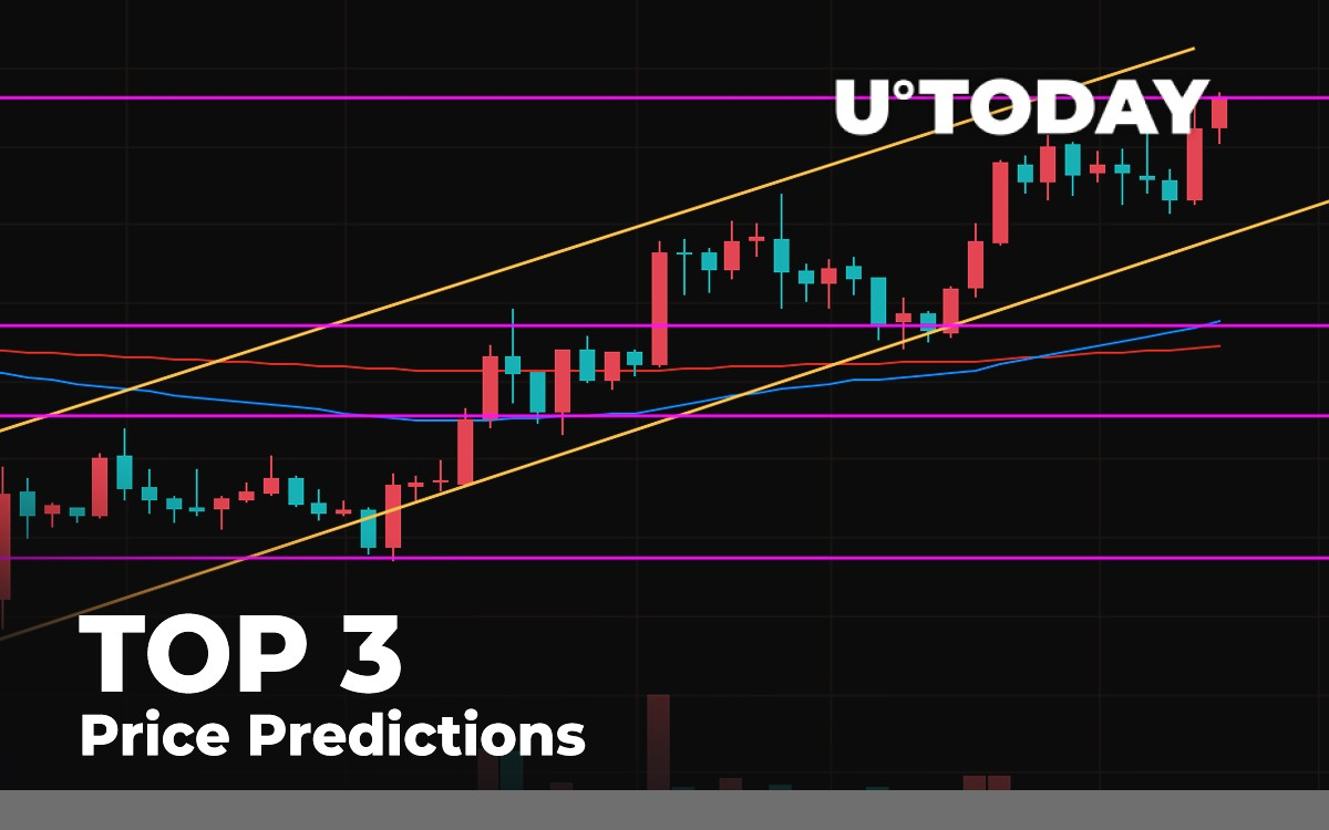 TOP 3 Price Prediction: BTC, ETH, XRP — Has the Correction Passed Before $10,500?