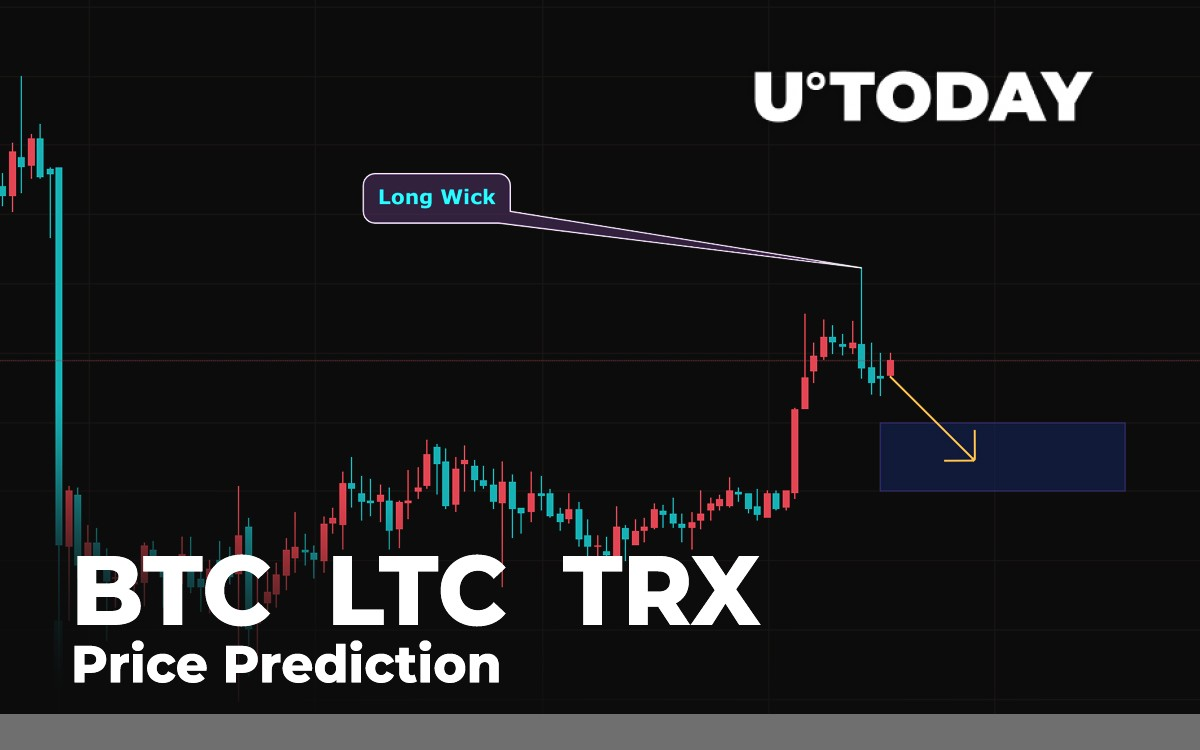 BTC, LTC, TRX Price Prediction - Has Correction Ended ? - U.Today
