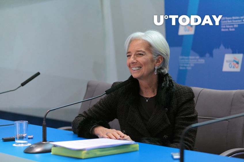 Crypto Named One of Main Challenges Affecting Eurozone by Christine Lagarde