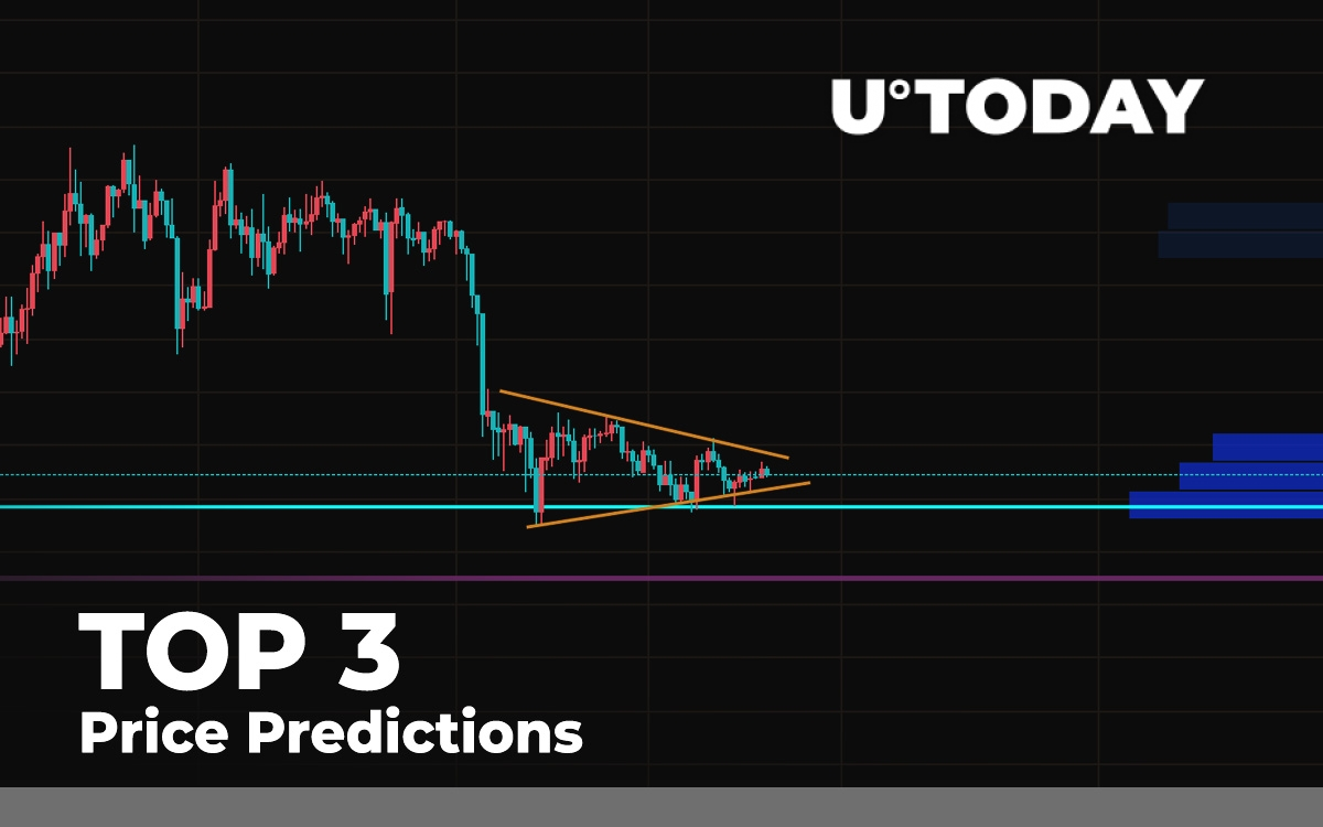 TOP 3 Price Predictions: BTC, ETH, XRP — Analyzing Support Zones of Major Coins thumbnail