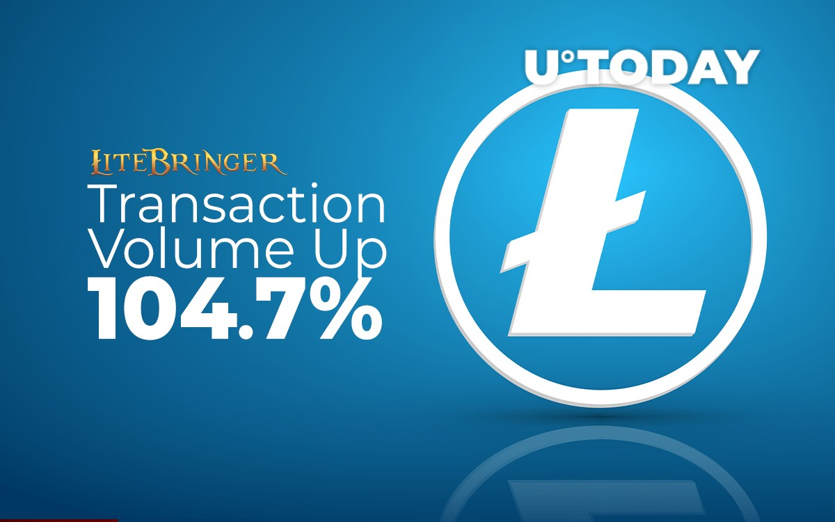 <bold>LTC</bold> Transaction Volume Up 104.7% Due to <bold>Litecoin</bold>-based RPG Litebringer