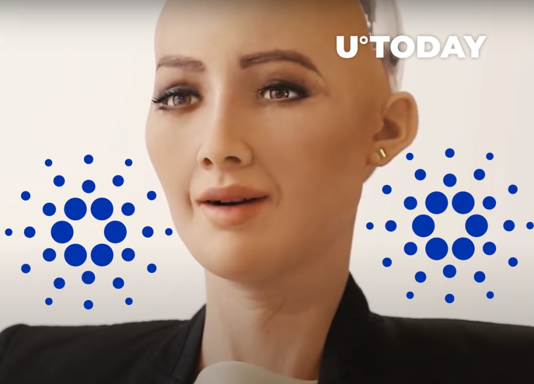 u.today - AI Firm Behind Robot Sophia Partners with Cardano, Plans to Dump Ethereum