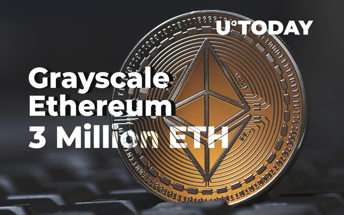 Grayscale's Ethereum Holdings Approaching 3 Million ETH