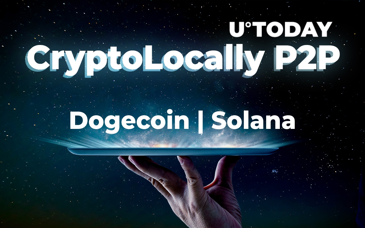 CryptoLocally P2P Exchange Adds Dogecoin (DOGE), Solana (SOL) as GIV Community Approves Listing