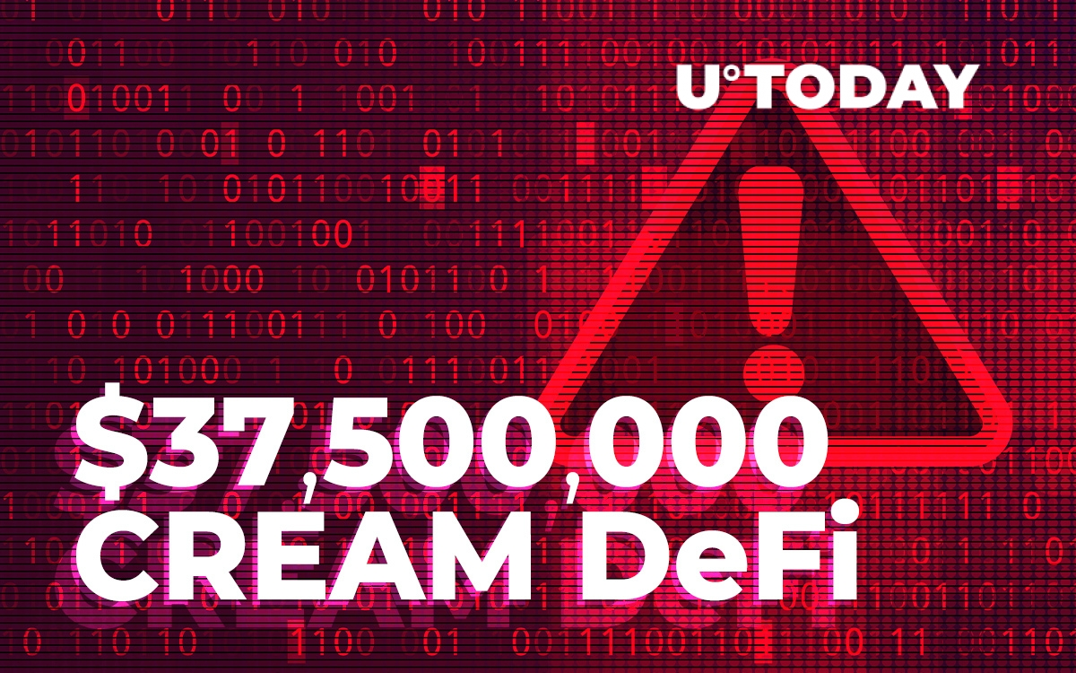 $37,500,000 Lost by CREAM DeFi in Largest Flash-Loan Attack Ever