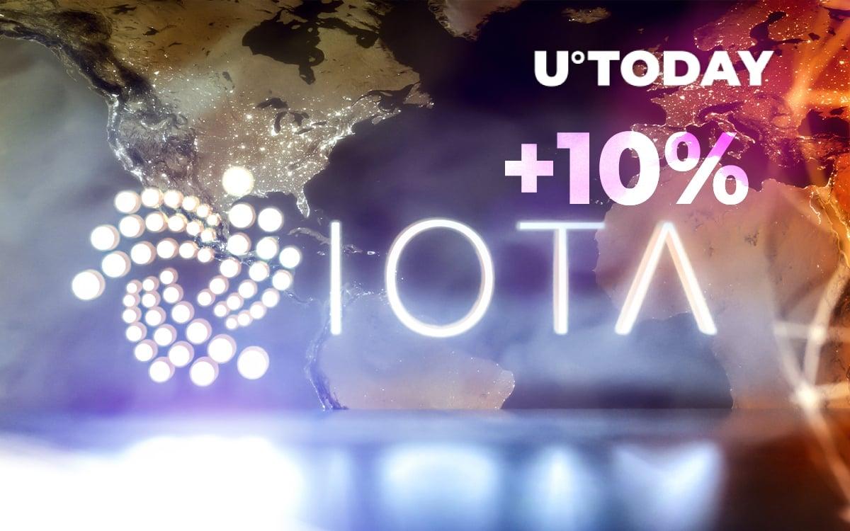 IOTA Rises 10% as Digital Assets Framework to Launch Soon