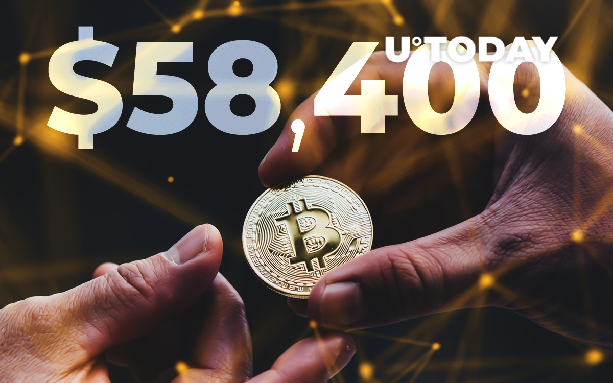 Bitcoin On-Chain Volume Soars as Bitcoin Hits $58,400 All-Time High: Santiment