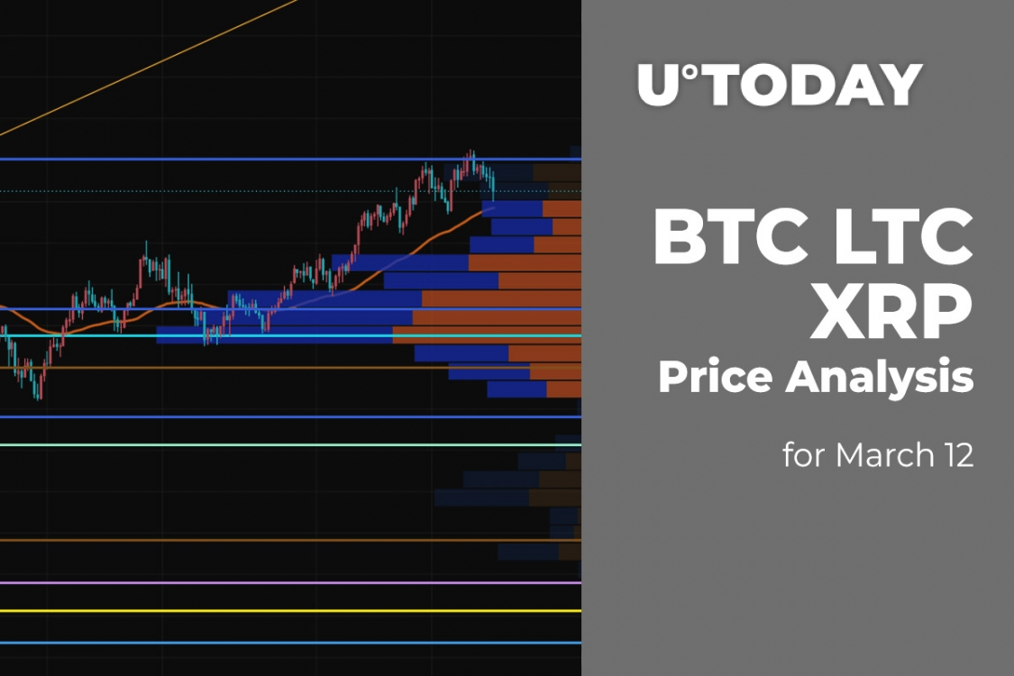 BTC, LTC and XRP Price Analysis for March 12