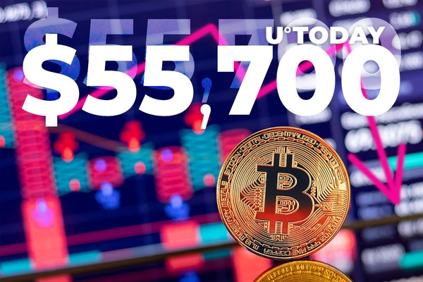 Bitcoin Extends Decline to $55,700 As Indian Proposed Crypto Ban Is Taking Effect - U.Today