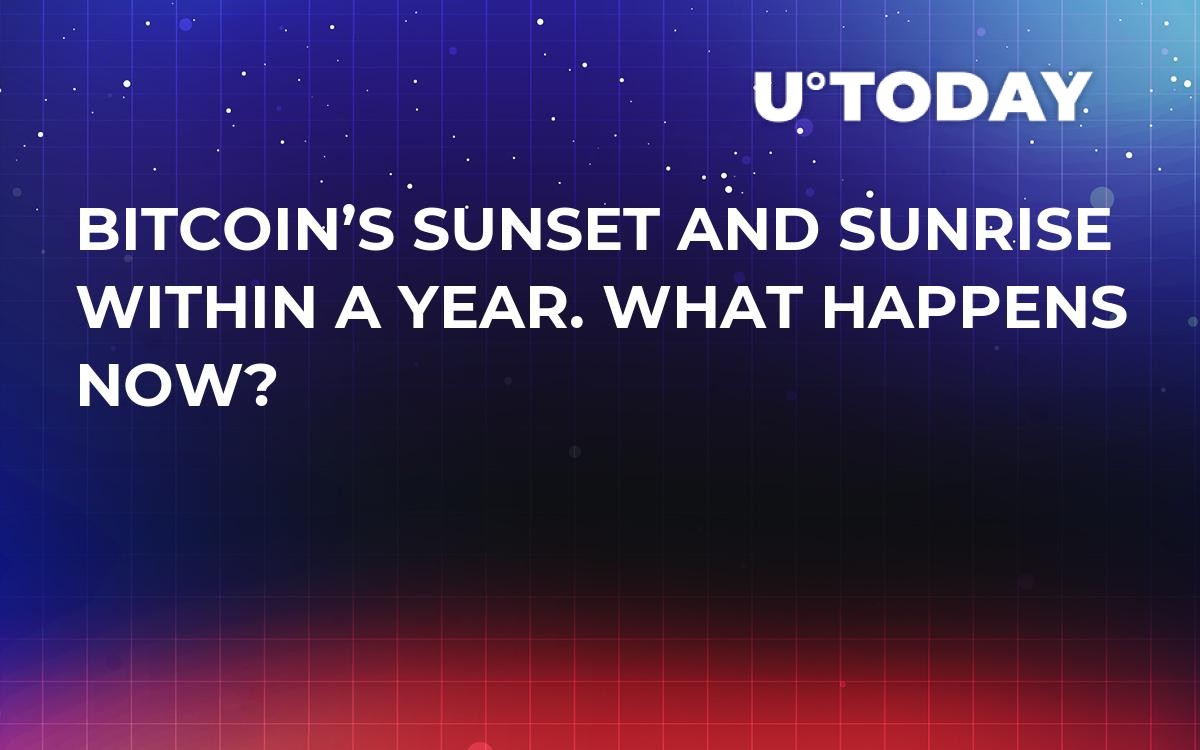 Bitcoin's Sunset and Sunrise Within a Year. What Happens Now?