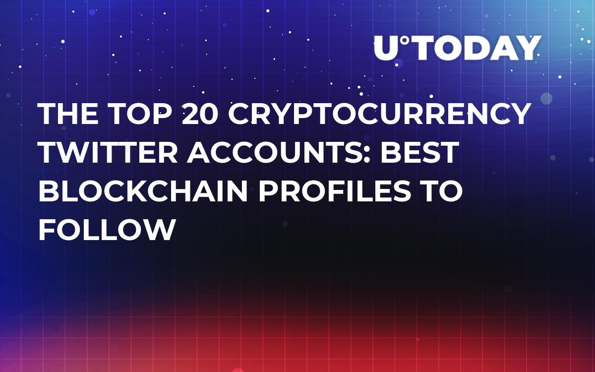 best twitter for cryptocurrency