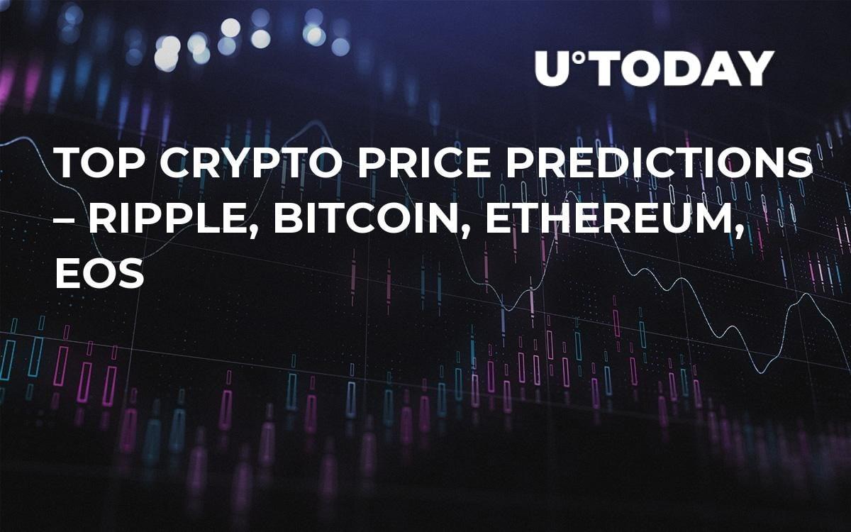 Top Crypto Price Predictions – Ripple, Bitcoin, Ethereum, EOS