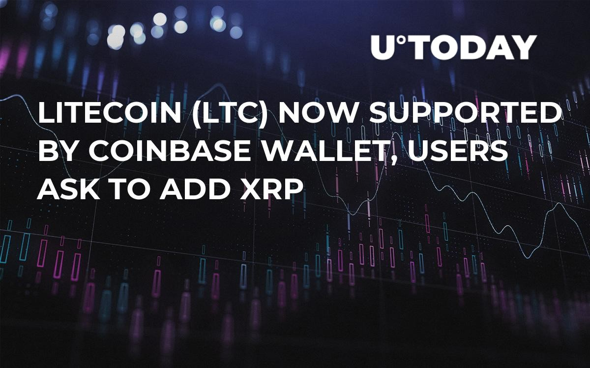Litecoin (LTC) Now Supported by Coinbase Wallet, Users Ask to Add XRP
