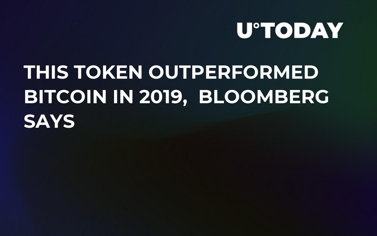 Best Cryptocurrency Exchange 2020.Token Outperformed Bitcoin In 2019 According To Bloomberg News