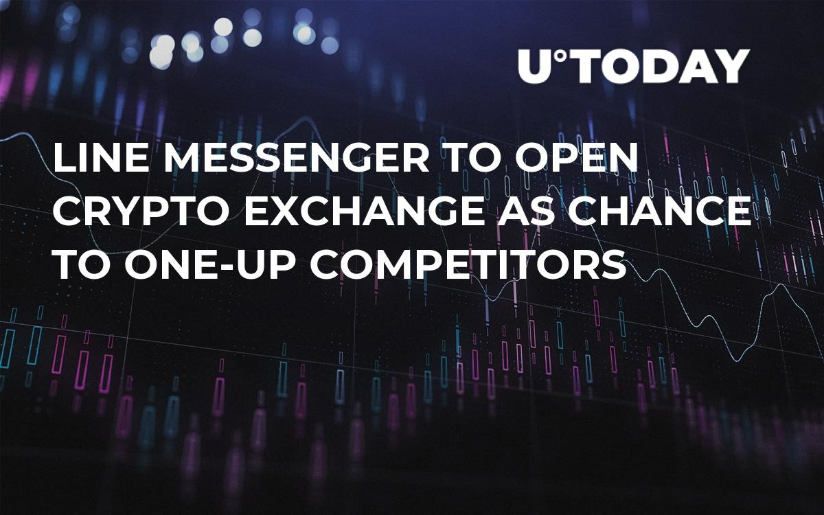 Line Messenger to Open Crypto Exchange as Chance to One-Up