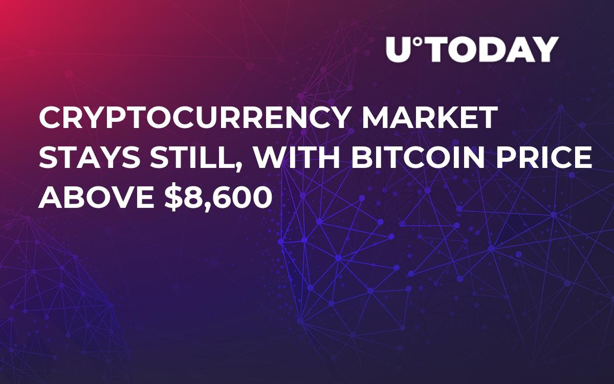 Cryptocurrency Market Stays Still, With Bitcoin Price Above $8,600