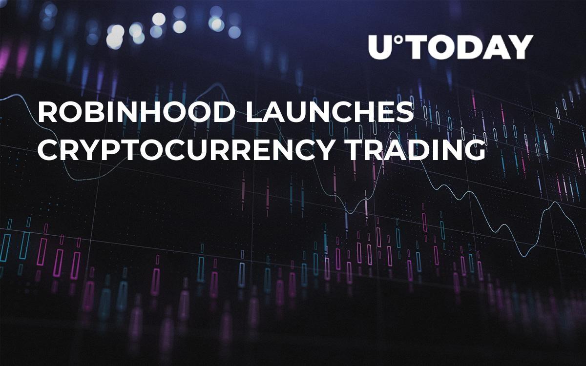 robinhood cryptocurrency trading hours