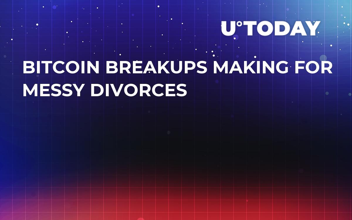 Bitcoin Breakups Making For Messy Divorces