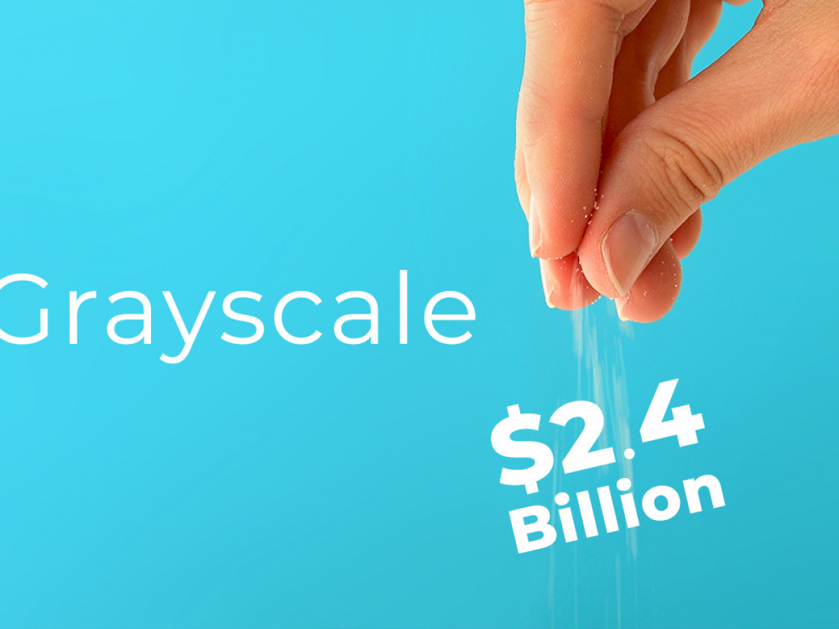 Grayscale Adds $2.4 Billion Worth of Crypto in Three Days