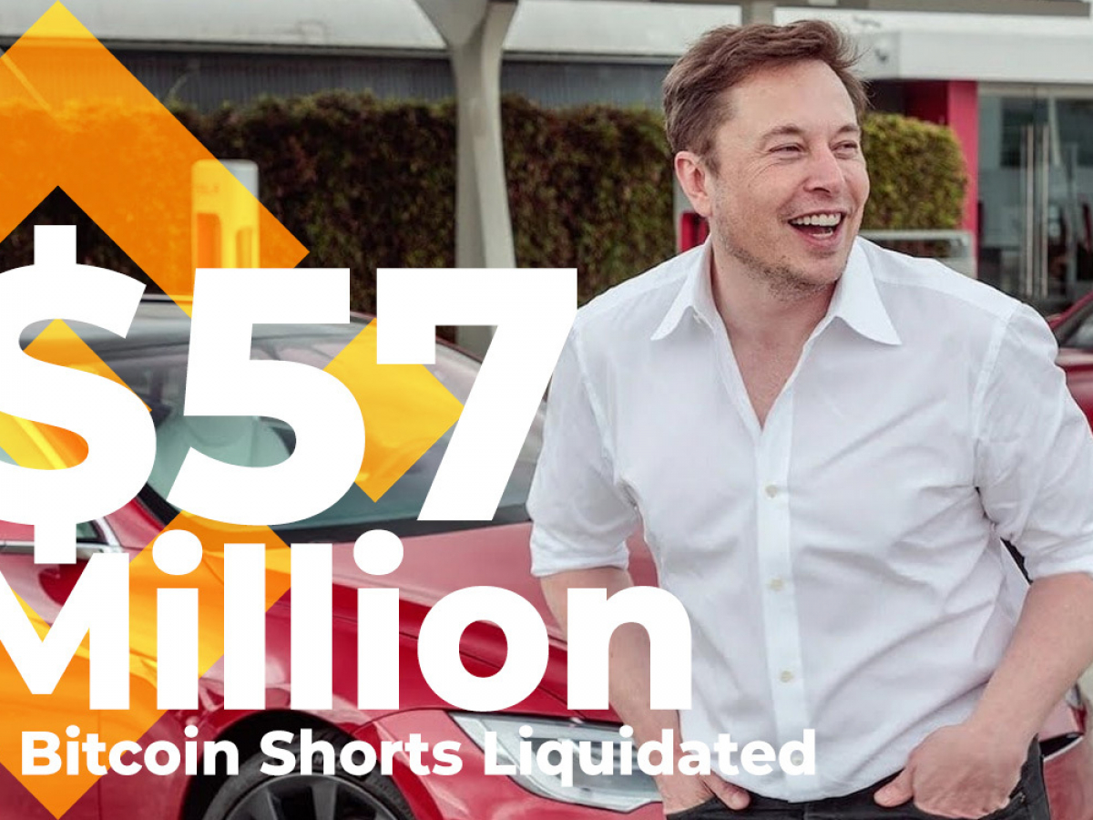 $57 Million in Bitcoin Shorts Liquidated in 10 Minutes on Binance Thanks to Elon Musk