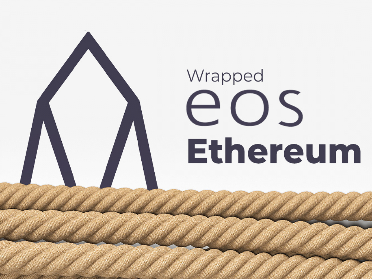 Wrapped EOS Goes Live on Ethereum (ETH) Blockchain