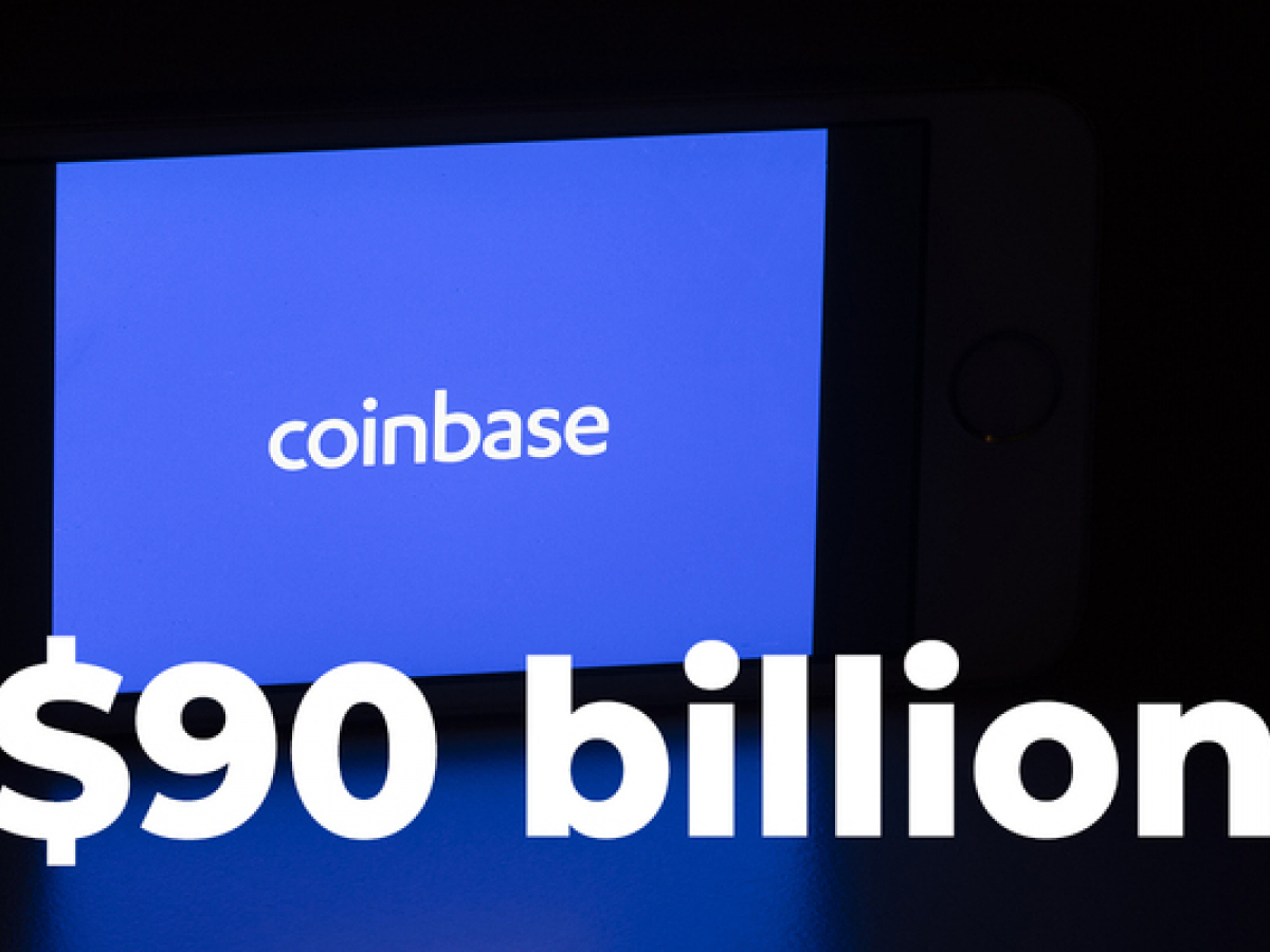 Coinbase Stocks Trade at $90 Billion Evaluation During Private Sale on Nasdaq