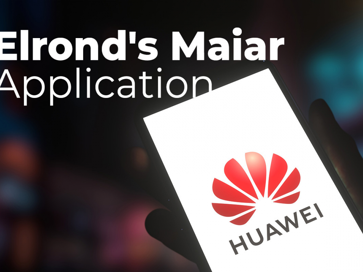 Huawei's AppGallery Adds Maiar Application by Elrond (EGLD): Details
