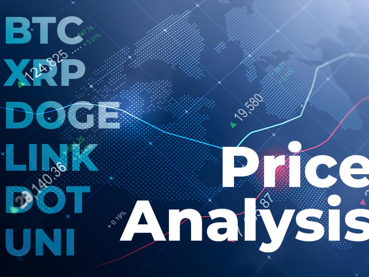 BTC, XRP, DOGE, LINK, DOT, and UNI Price Analysis for June 16
