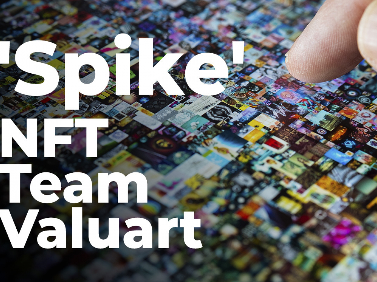 NFT Team Valuart Launches Auction for Banksy-Inspired 'Spike': Details