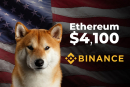 Ethereum (ETH) Price Smashes $4,100, Shiba Inu Fans May Have Destroyed Binance, Richest Americans Can Buy Crypto: U.Today Top News