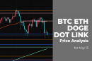 BTC, ETH, DOGE, DOT and LINK price analysis for May 15