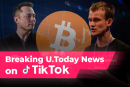 Elon Musk dump threats, Bitcoin (BTC) might collapse further, Vitalik Buterin burns SHIB: U.Today TikTok Digest