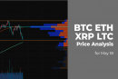 BTC, ETH, XRP and LTC price analysis for May 18
