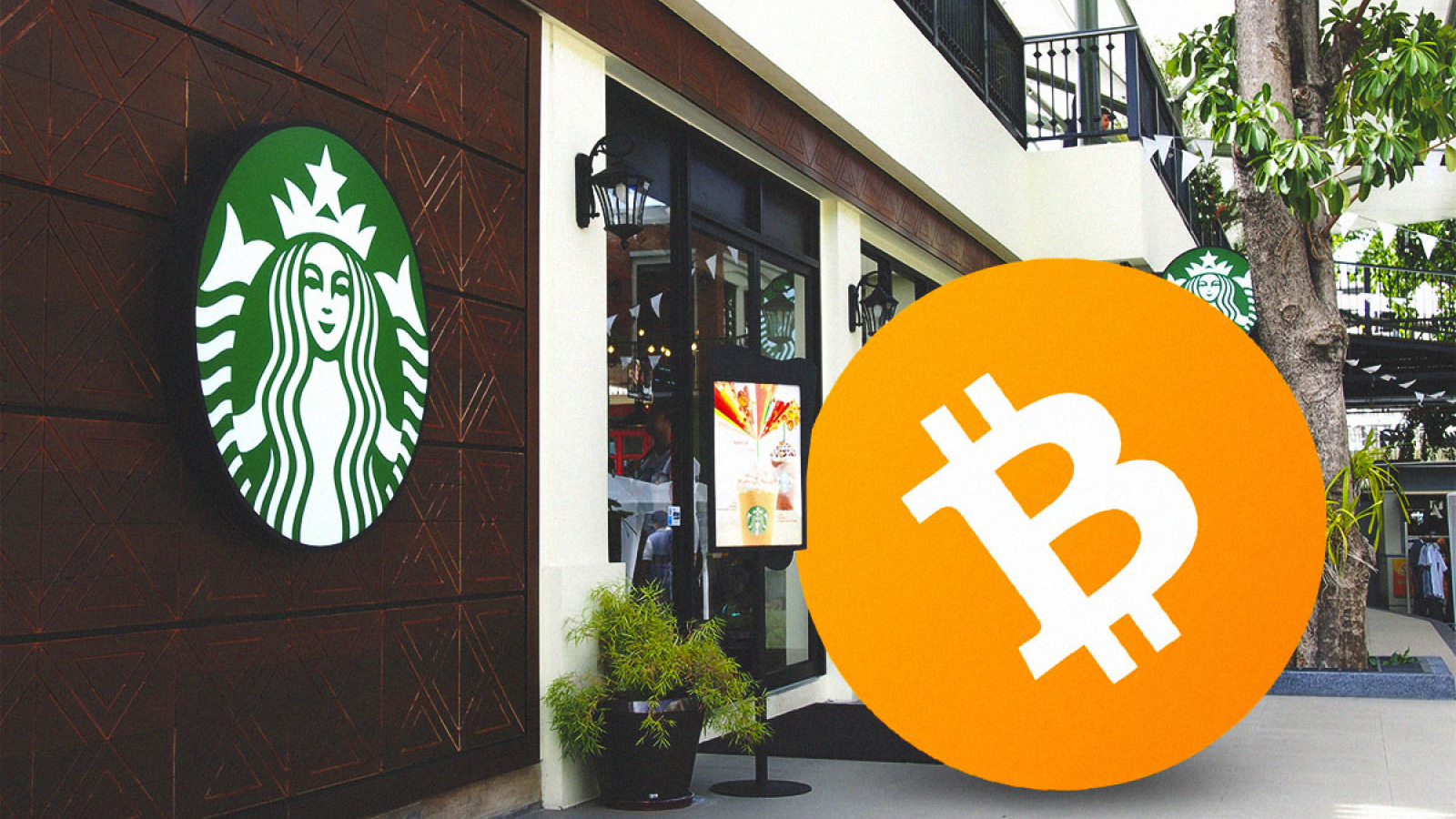 starbucks accepts cryptocurrency