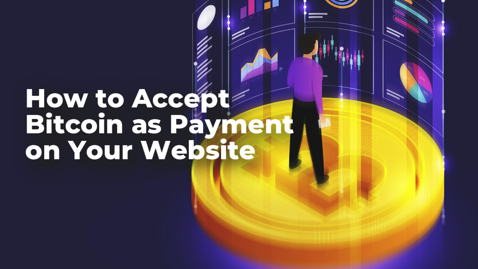 Accept bitcoins on your website not on a bet