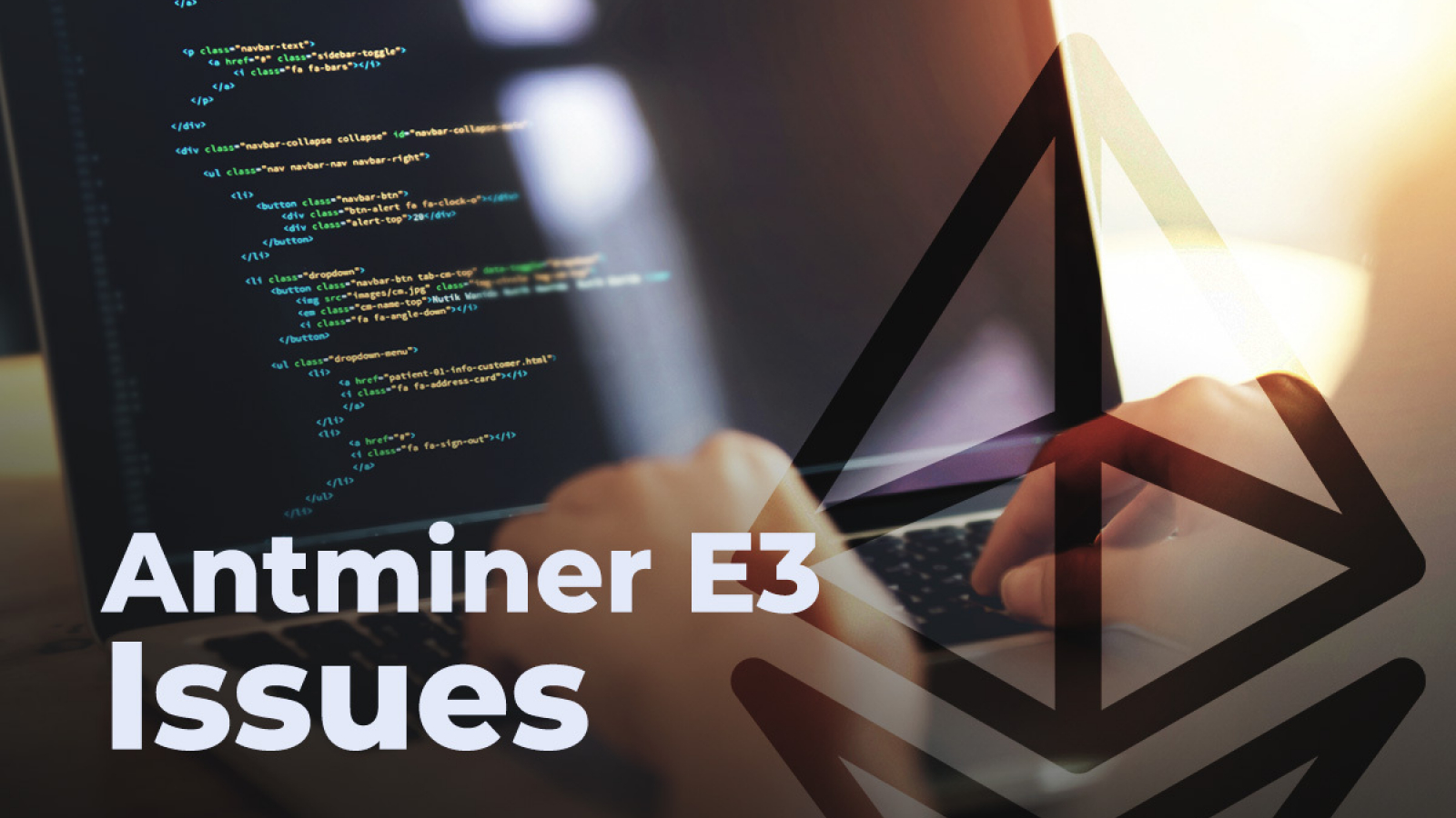 Ethereum Eth Developer Suggests Two Ways Of Solving Antminer E3 Issues 91 likes · 1 talking about this. ethereum eth developer suggests two