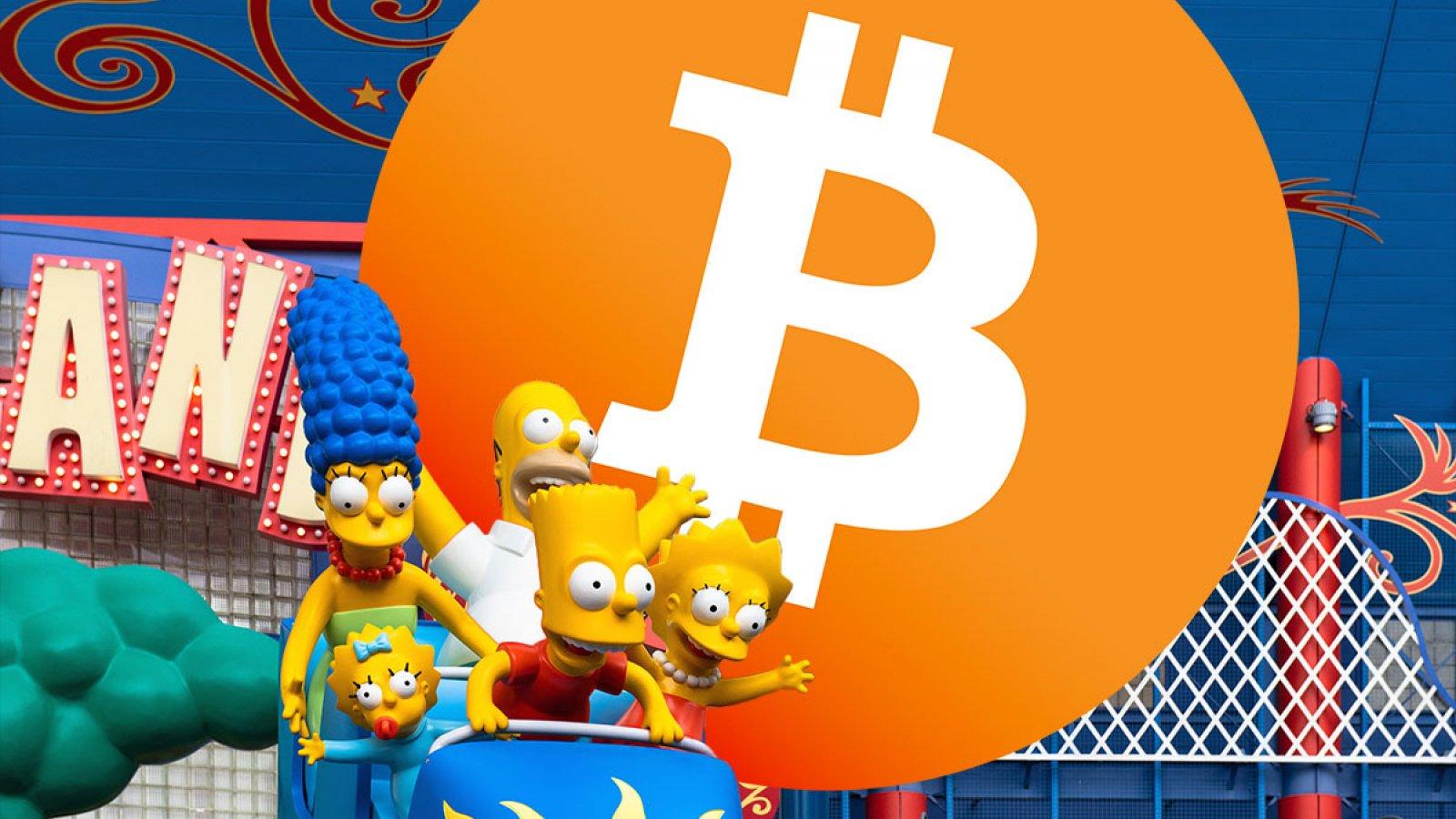 bitcoin simpsonų kilimas ir kritimas)