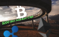 BTC, ETH, XRP Price Analysis — Bitcoin Has Reached $200 Bln Market Cap. Rates Are Moving Higher