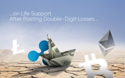 ETH, XRP, BCH, LTC on Life Support After Posting Double-Digit Losses