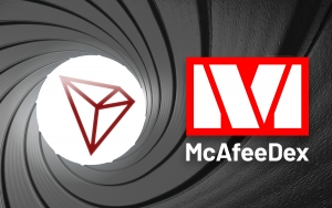 Tron (TRX) Goes Live on McAfeeDEX after Week's Delay