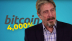 Bitcoin up more than 4,000% in five years, says John McAfee, standing by his $1-mln BTC forecast
