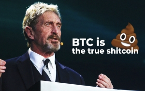 John McAfee Slams Bitcoin Hard, Community Taken Aback