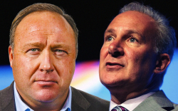 Peter Schiff on Alex Jones Embracing Bitcoin (BTC): 'This Is How Manias End'