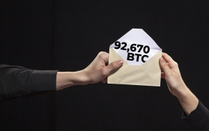 Bitcoin Whales Wire 92,670 BTC for $4.50 Fee