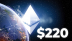 Ethereum Hits $220 While Number of Active ETH Wallets Sets 6-Month High