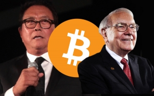 Robert Kiyosaki Slams Warren Buffett for Trashing Bitcoin (BTC) and Gold (XAU)