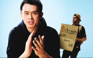'Bitcoin Will Save Us' Posters Amidst Riots, Binance CEO Calls BTC Peaceful Protest