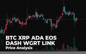 BTC, XRP, ADA, EOS, DASH, WGRT and LINK Price Analysis for August 13